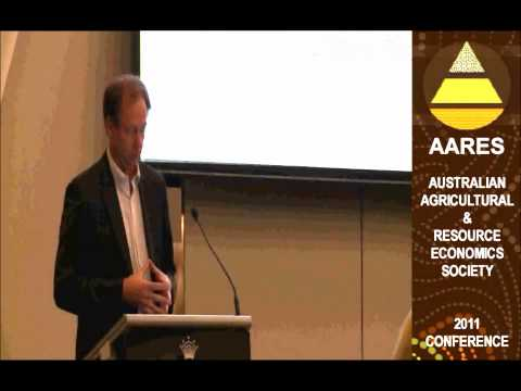 AARES 2011 Official Opening by Richard Bolt - Part 3 of 3