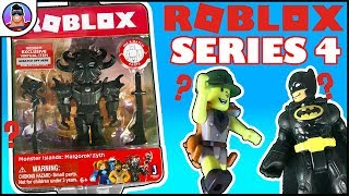 ROBLOX Series 4 Mystery Box AND Malgorok'Zyth Toy Reviews! | Virtual Items! | Entire Box to open!