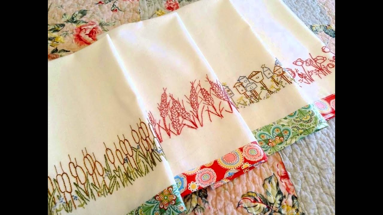 embroidery designs kitchen towels embroidered kitchen towels ideas 7053