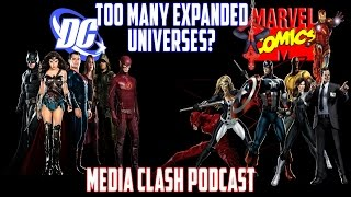Expanded Universes & Digital Downloads - Ep 3 - Media Clash Podcast