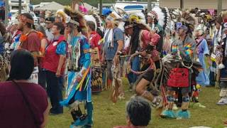Mistawasis 2017 pow wow grand entry