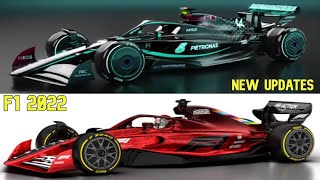 F1 2022 Cars New Changes Regulations