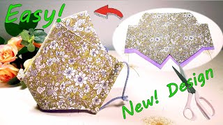 New Design Easy DIY Face Mask Sewing Tutorial DIY Breathable Face Mask Easy Sew Pattern