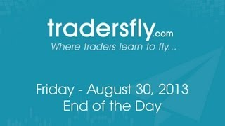 August 30, 2013 - How to Day Trade Stocks on Bearish Days - TZA, SDS