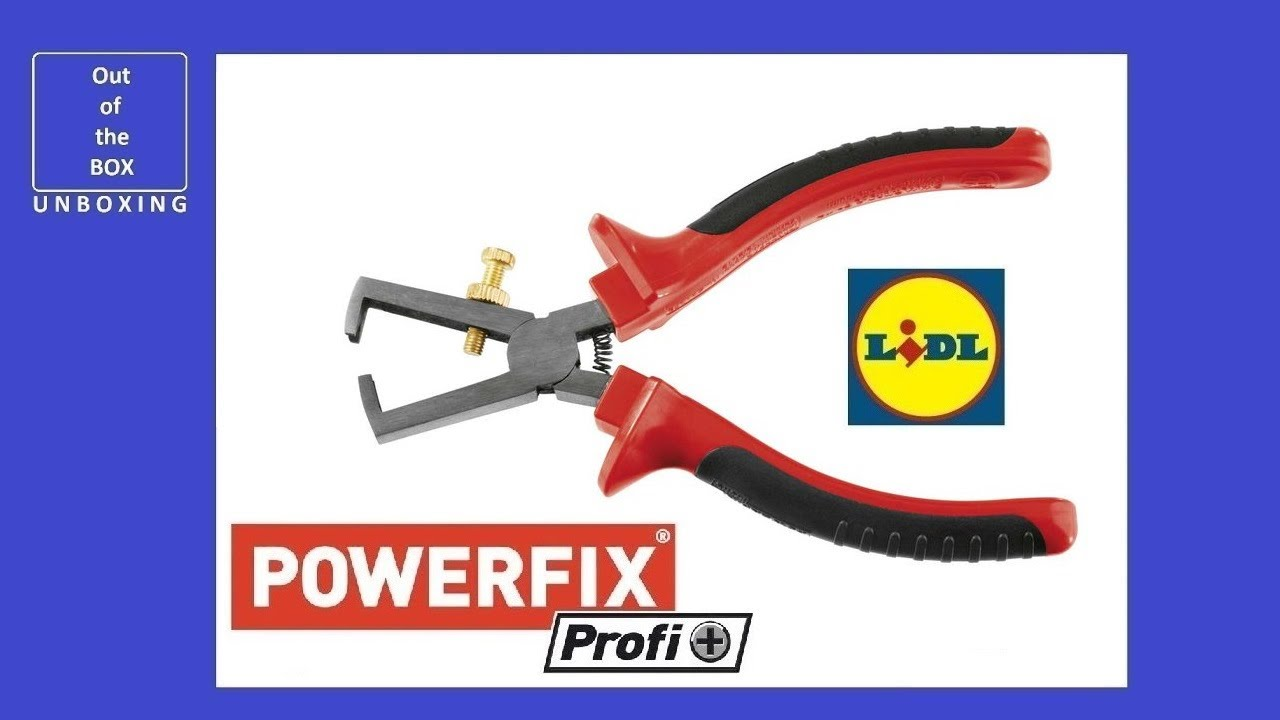 Unboxing Powerfix Profi Wire Stripper Lidl 170 Mm видео