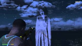 COME TOCCARE IL FANTASMA DEL MONTE GORDO (GTA 5- PS4)
