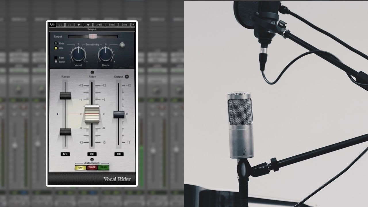 How to Quickly Achieve Perfect Vocal Levels – Vocal Rider Plugin Tutorial