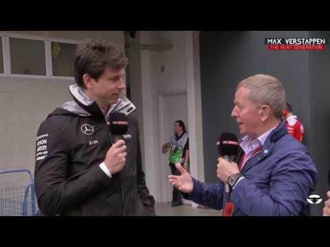 What Toto Wolff said to Jos Verstappen/Max Verstappen