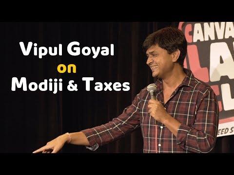 Vipul Goyal on Modiji and Taxes