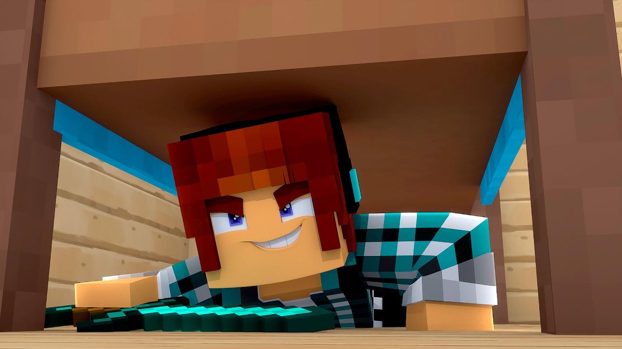 Minecraft proteja sua cama bed wars youtube for Cama minecraft