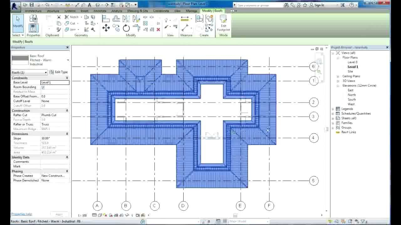 Wonderful Revit Tutorial | Revit Architecture 2014 | Tutorials For Beginners | House  Design 2   YouTube