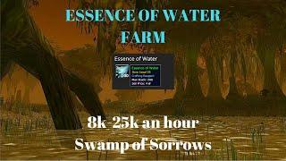Wow Gold guide - Essence of Water Farm 8k-25k an hour - Wod farming (Best Farming Location)