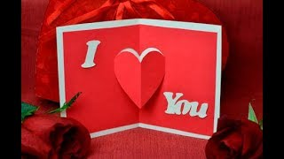 3D Pop Up Card with Paper | Art And Craft | Paper Gift