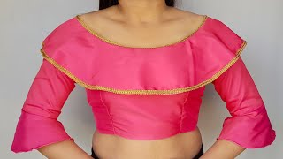 Model blouse gala design cutting and stitching /blouse designs