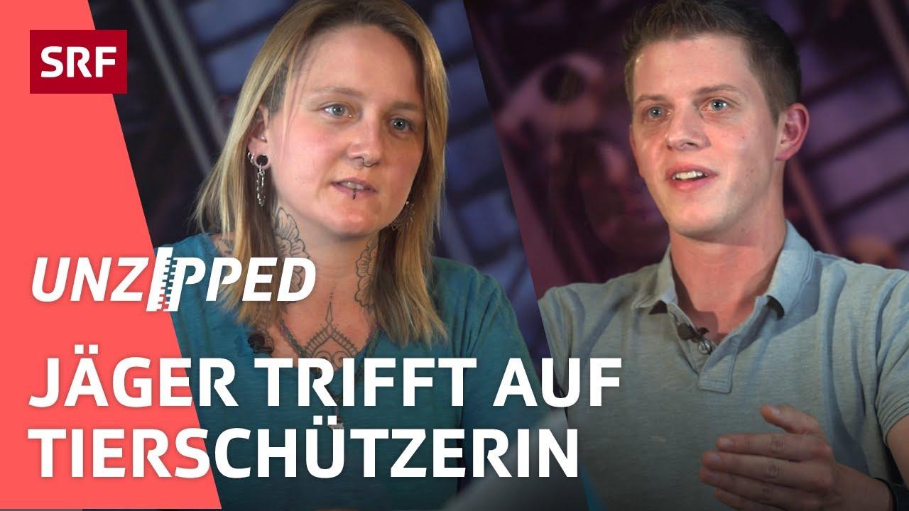 Jagd in der Schweiz – Jäger vs. Tierschützerin | Unzipped | SRF Virus