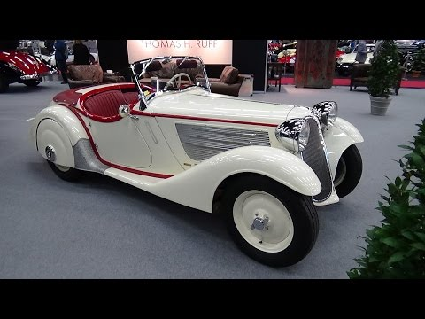 1935-1937 - BMW 319 Roadster - Exterior and Interior - Classic Expo Salzburg 2015