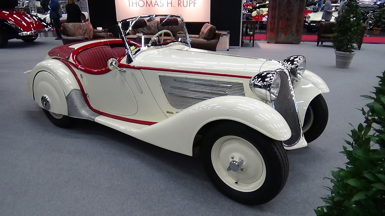 1935-1937 - BMW 319 Roadster - Exterior and Interior - Classic Expo ...