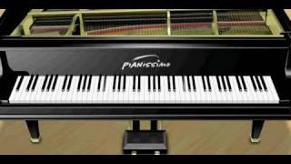 Vanessa Carlton - A Thousand Miles - Piano Tutorial + Music Sheet + MIDI + MP3