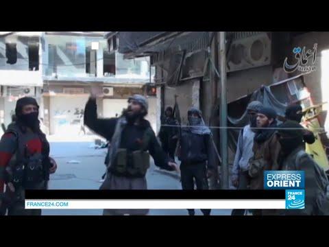 SYRIE - La terreur dans les rues de Yarmouk, contrôlées par les jihadistes de l'Etat Islamique