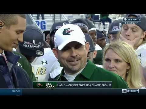 UAB Postgame Ceremony - CBS Sports Network