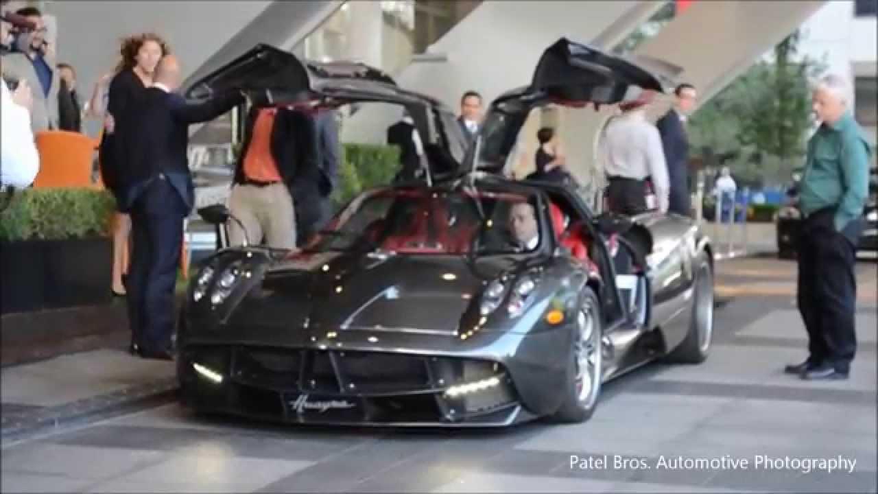 Pagani Huayra Carbon Edition in Toronto - YouTube