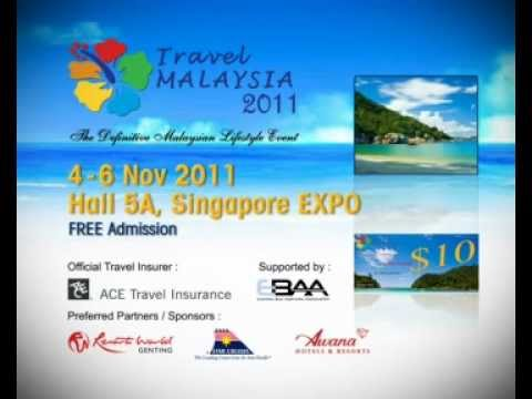 Travel Malaysia 2011 at Singapore Expo Hall 5A (English)