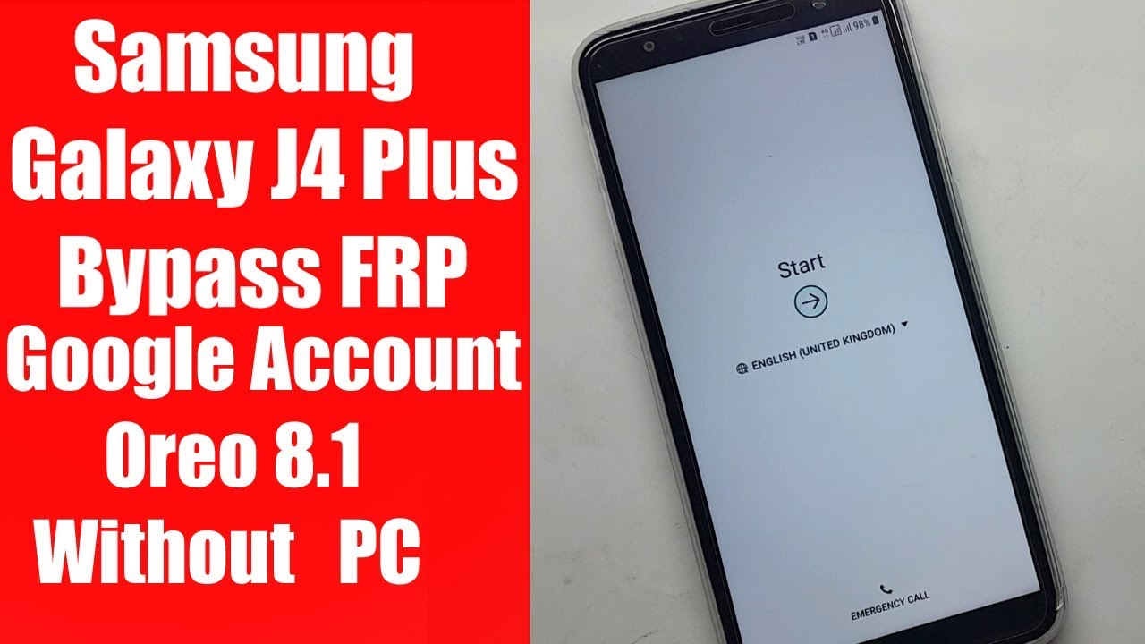 Samsung Galaxy J4 plus Google Account Bypass FRP android 8 1 without PC |  Pardeep Electronics by PARDEEP ELECTRONICS