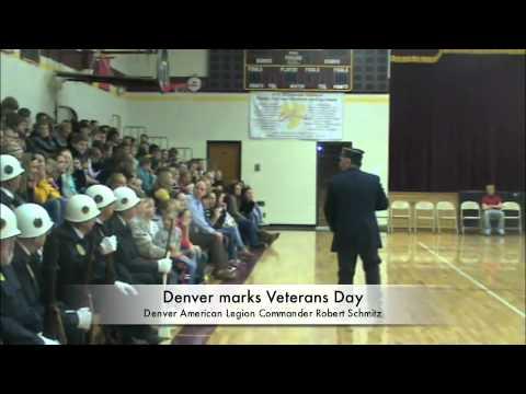Denver marks Veterans Day
