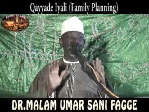 Download Family Planning (Qayyade Iyali) - DR.MALAM UMAR SANI FAGGE -