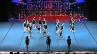 Nationals 2014 - Mini Large Level 1 - Cheer Sport Angel Sharks