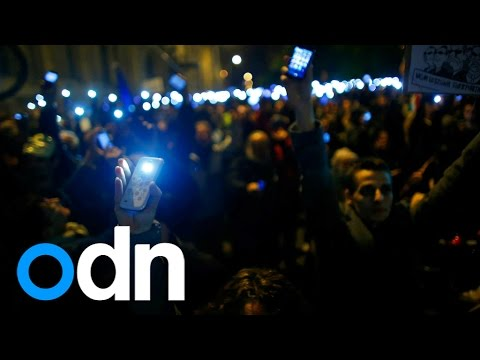 100,000-strong protests in Hungary over 'internet tax' plans
