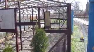 Сотовый поликарбонат на деревянную теплицу 1(, 2014-04-28T07:07:58.000Z)