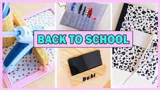 bACK TO SCHOOL: Декор и организация рабочего стола/ DIY/  Рабочее место мечты