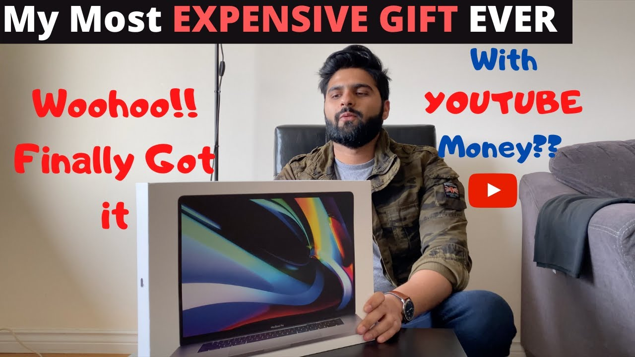 Gift To Myself Worth 2 LAKH RUPEES in Canada | Macbook Pro 16 inch 2020