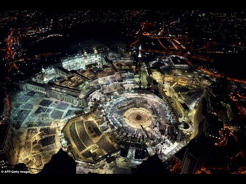 Amazing Aerial View Of Makkah Youtube