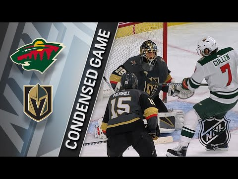 03/16/18 Condensed Game: Wild @ Golden Knights