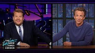 James \u0026 Seth Meyers Combine Their Powers for the Planet