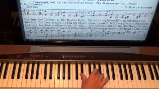 Piano Lesson How To Sight Read Hymns Shawn Cheek Tutorial