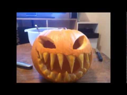 Scary Pumpkin - YouTube