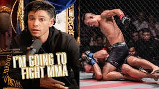 I'm Going to Reтire From Boxing And Start Fighting MMA | Ryan Garcia's Fierce Talk Podcast -- CLIP