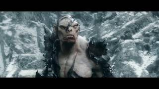 Леголас против Болга - Хоббит 3. Full HD