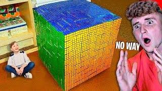 This Kid Solves RUBIK'S CUBE In 5 Seconds..