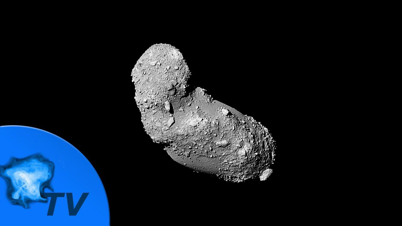 Светопись. Фото 74. Кратеры астероида Итокава