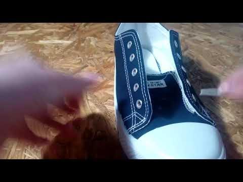 Как завязать шнурки на кедах обычным способом