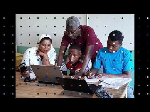 Michel volontaire EDF à Mahambo 2019