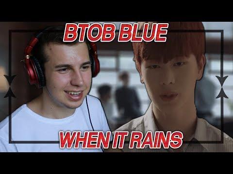 Music Critic Reacts To BTOB-BLUE - When It Rains MV