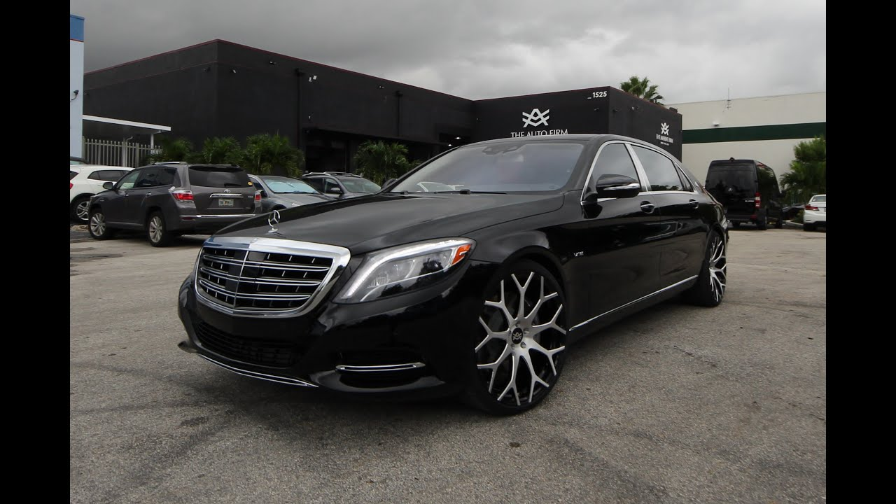 Avorza mercedes benz s600 maybach done for mlb player for Mercedes benz s600 maybach