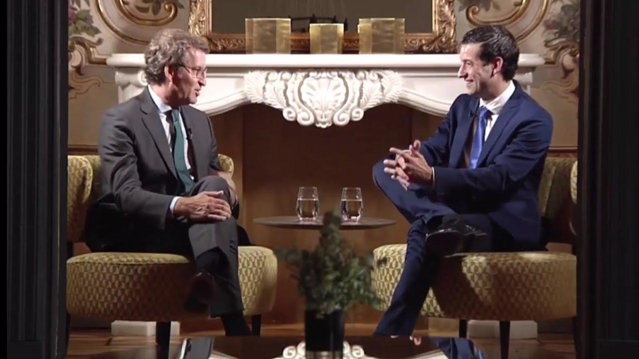 Adelanto de entrevista de #AlbertoChan al presidente de la Xunta de #Galicia Alberto Nuñez #Feijoo
