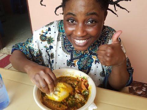 My Ghana Adventure: Mom's Okro Soup | Help from Sis Charity