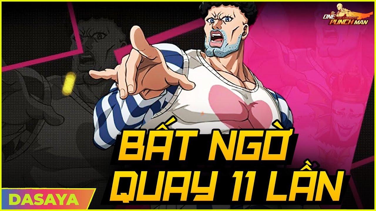 Download One Punch Man: The Strongest VNG: CÙNG S411 GENOS999 NHẬN SSR NGAY TỪ LẦN THỨ QUAY THỨ 11